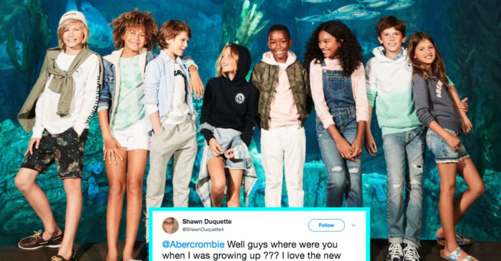 Abercrombie Is Breaking down Gender Barriers with Its New Unisex Kids' Line