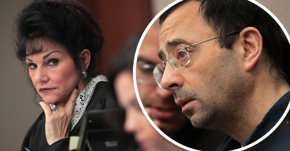 Larry Nassar Sentenced to 175 Years After Decades of Gaslighting Girls and Families