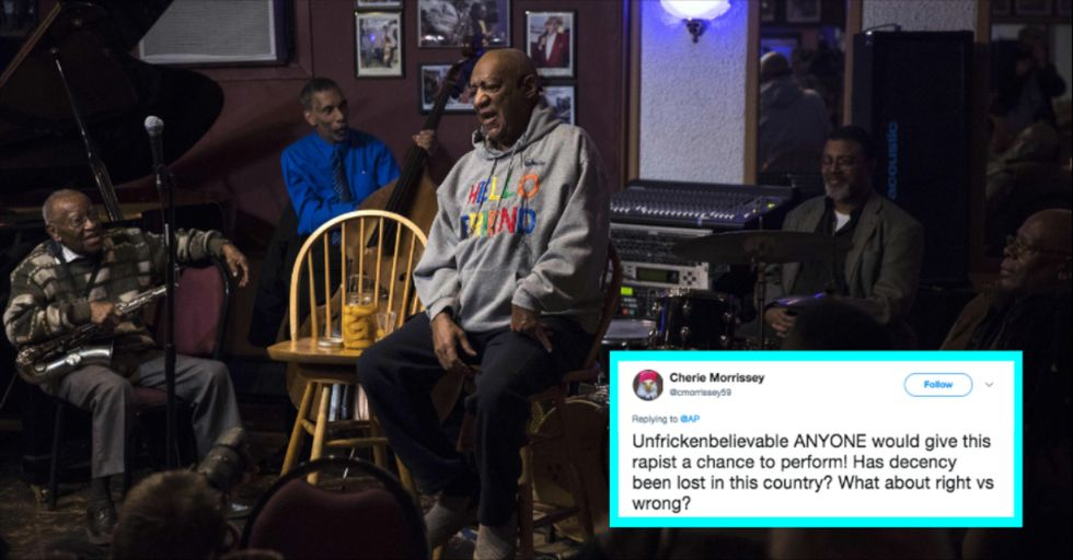 Bill Cosby Made a Surprise Return to Standup After Years of Sexual Assault Allegations