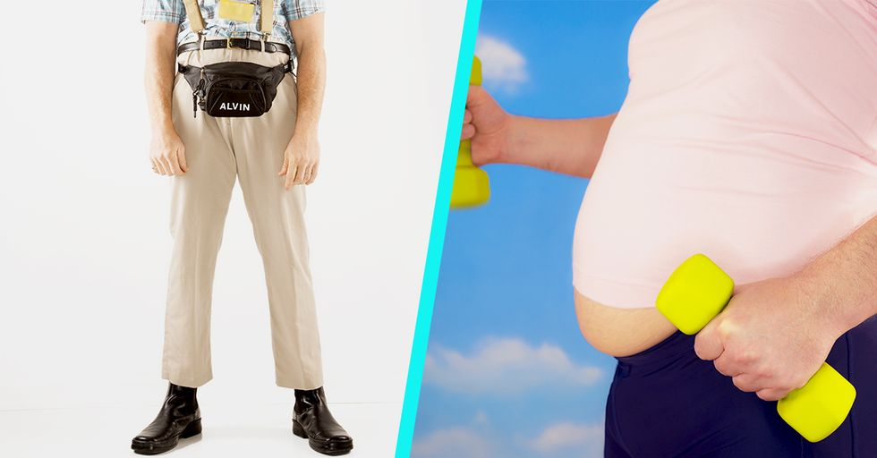Men Can Now Look Like They Let Themselves Go With the Help of the 'DadBag'