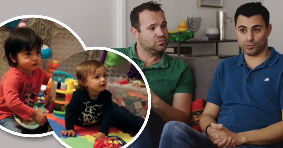 Gay Couple Sues State Dept. for Denying Citizenship to One of Their Twin Sons