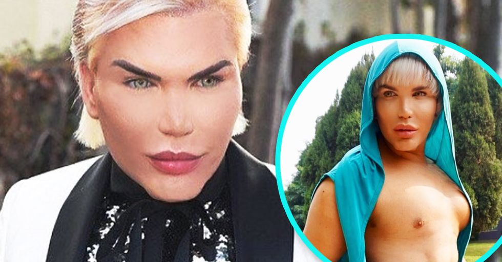 Human Ken Doll Had 4 of His Ribs Surgically Removed so He Could Fit Into Blazers Better