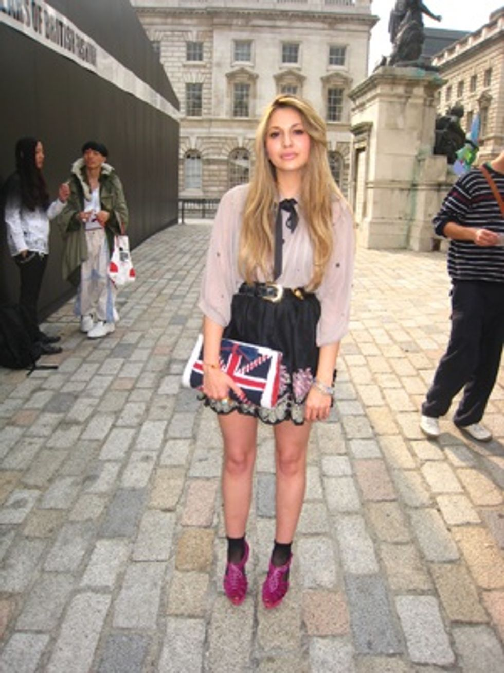 London Fashion Week Report: Cornered Style With Some of London's Best Dressed