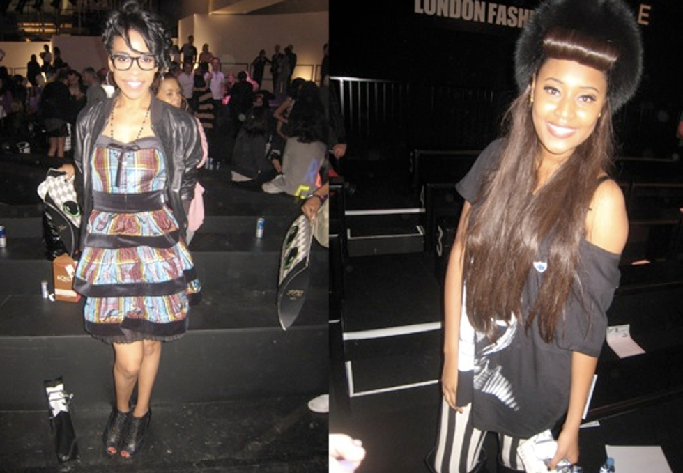 London Fashion Week Report: Quick Chit-Chats With Michelle Williams & VV Brown
