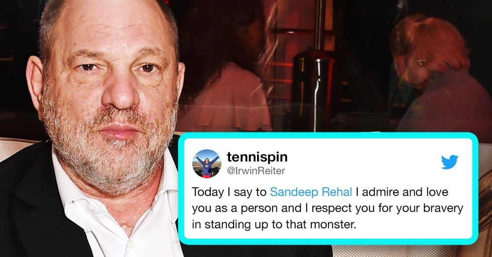 Harvey Weinstein's Assistant Is Suing Him for Making Her Clean Semen off His Couch