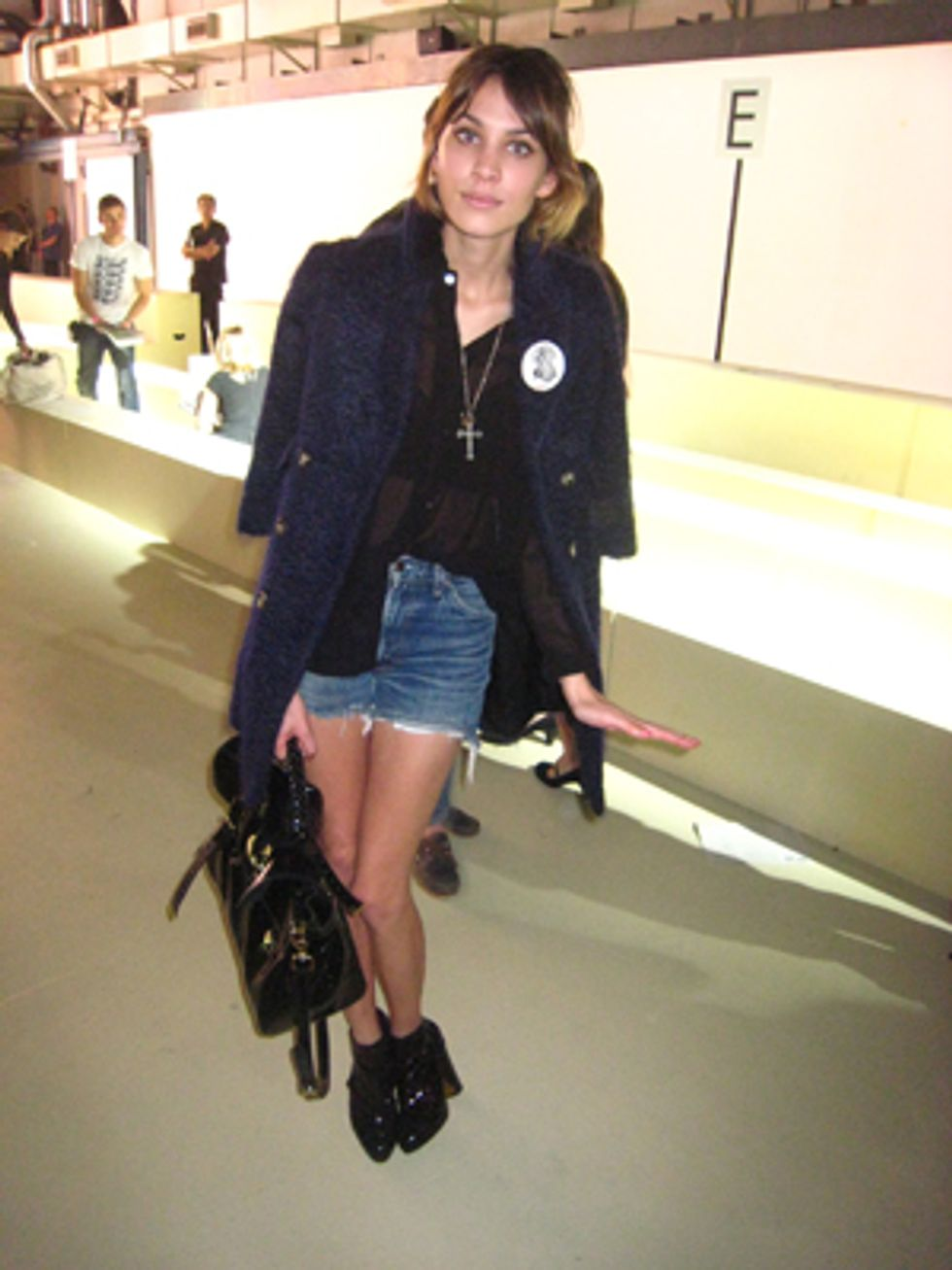 London Fashion Week Report: A Quick Chit-Chat With Alexa Chung
