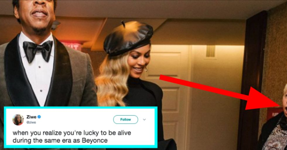 Woman's Stunned Reaction Perfectly Captures What It's Like to See Beyoncé in Real Life