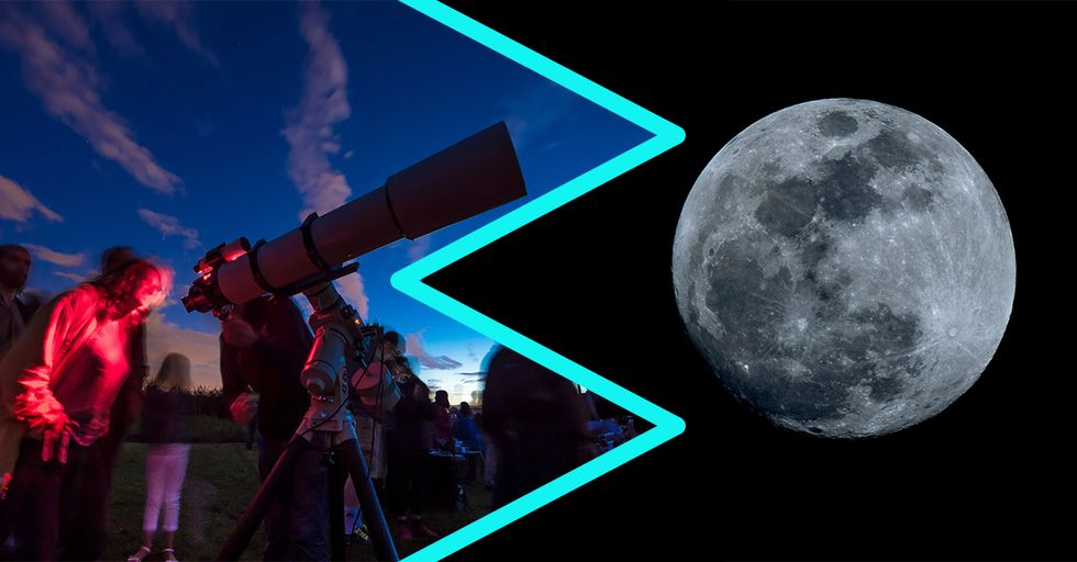 The Best Way to See Wednesday's Rare Super Blue Blood Moon