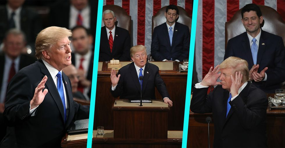 The Funniest Reactions to Trump's State of the Union Speech