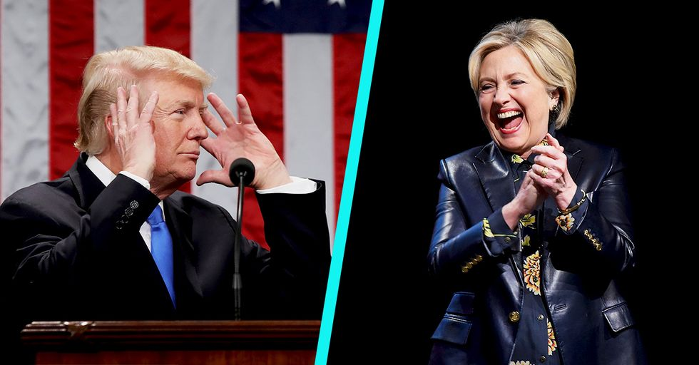 Donald Trump Stole a Specific Phrase From Hillary Clinton for His State of the Union