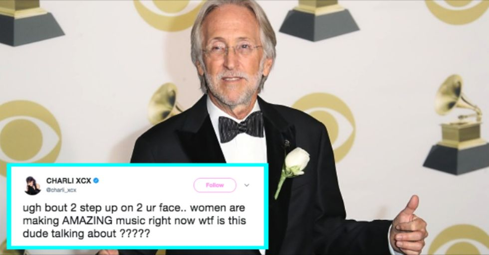 Musicians Slam Grammys President Who Said Female Artists Need to 'Step up' to Win Awards