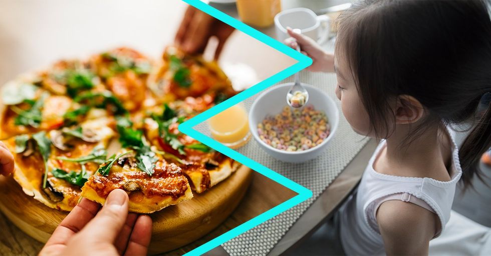 Nutritionists Now Say Pizza for Breakfast Is Healthier Than Most Cereals