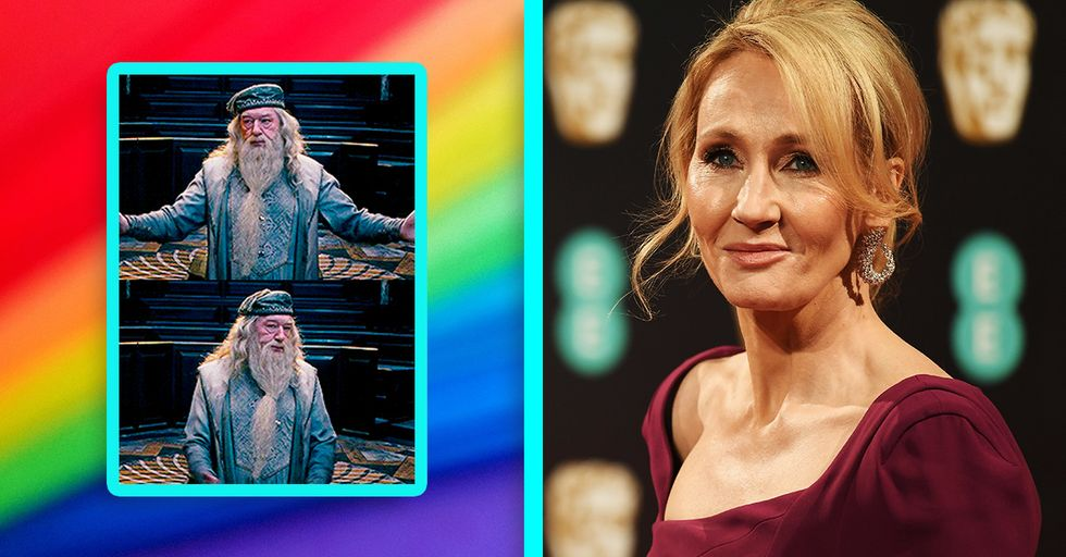 J.K. Rowling Responds to Controversy Over Whether or Not Dumbledore Is Gay in 'Fantastic Beasts' Series