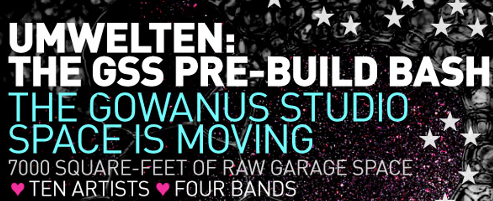 Party in Gowanus: Umwelten, the GSS Pre-Build Bash