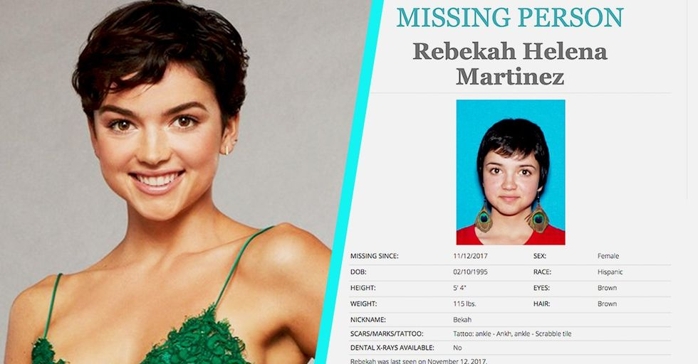 Bekah M. From 'The Bachelor' Is Currently on a Missing Persons List in California