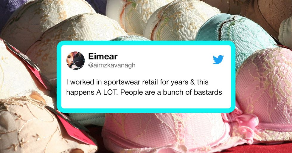 A Woman Shared Her Horrifying Tale of Bra Shopping and the Ladies of the Internet Were Like 'Yep'