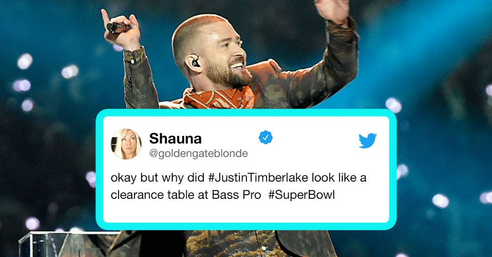 The 15 Best Reactions to Justin Timberlake's Super Bowl Halftime Show