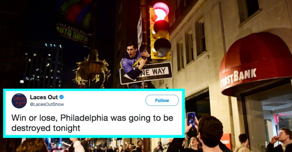 The 10 Craziest Moments of Philly Fans Celebrating After the Super Bowl