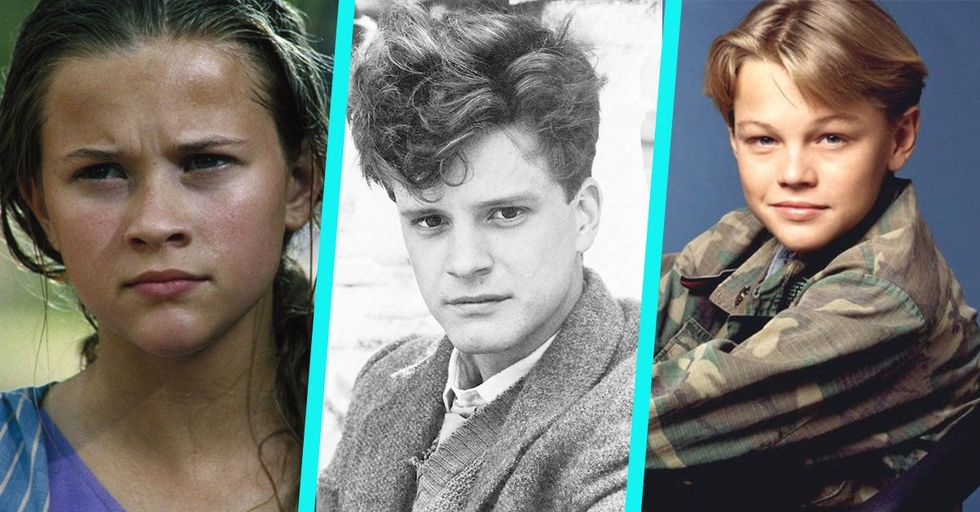 15 Super Famous Celebrities In Their First Ever Film and TV Roles
