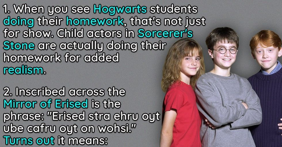 30 Magical, Behind-The-Scenes Facts About 'Harry Potter' You Never Knew