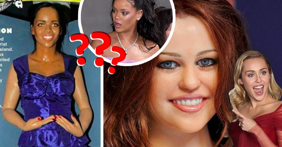 8 Celebrities Whose Wax Figures Are Complete and Utter Fails
