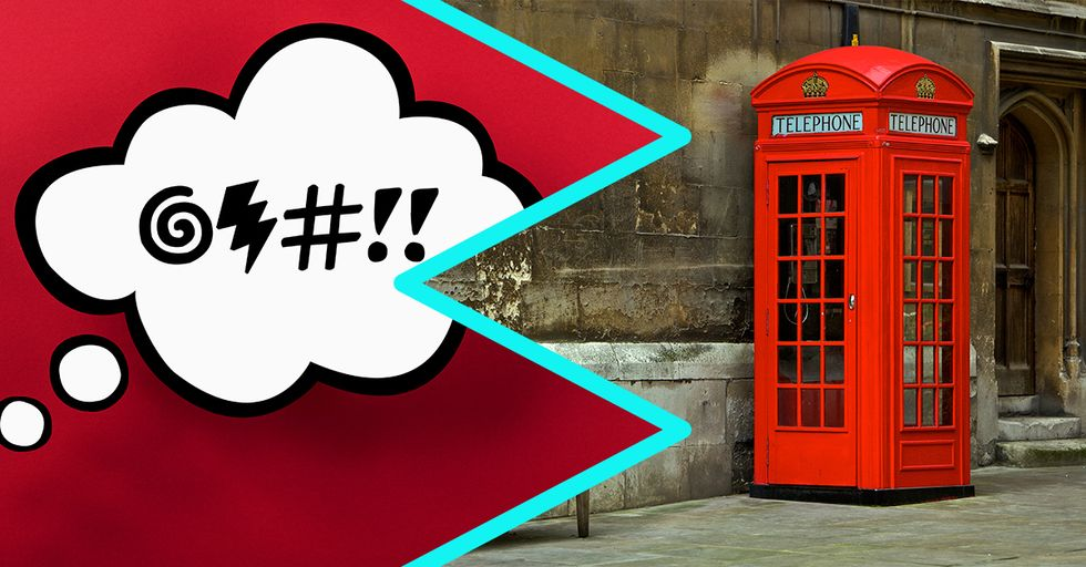 20 Bloody Brilliant British Swear Words You're About to Use All the Time