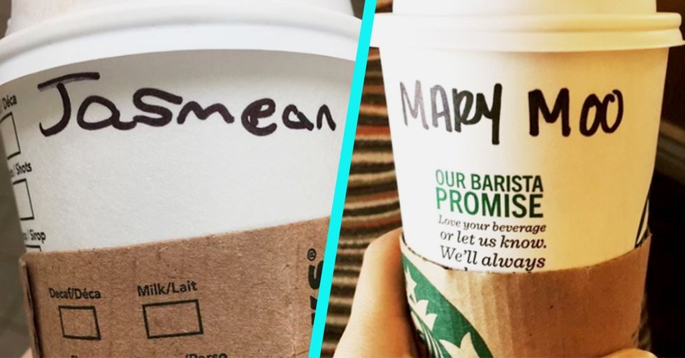 15 Times Starbucks Baristas Royally Screwed Up The Names They Put on Cups