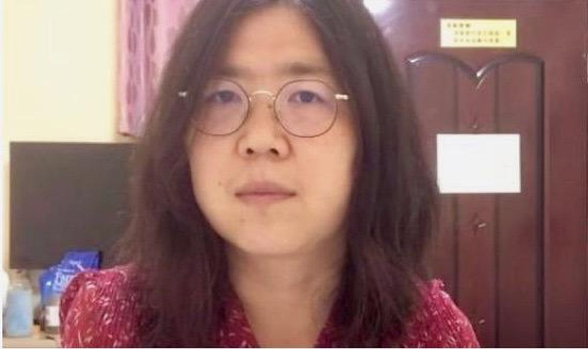 Zhang Zhan: the defiant citizen journalist jailed for challenging China's virus story