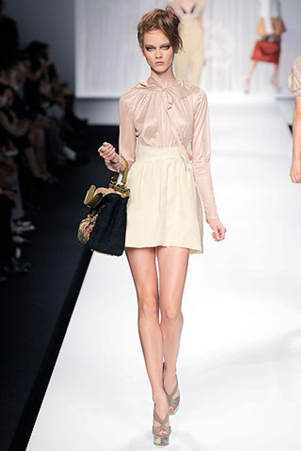 Milan Fashion Week Report: Fendi