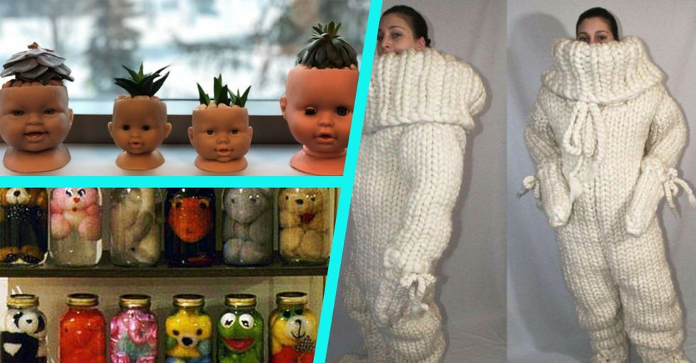 Craft Fails That Put the WTF in DIY, or Something