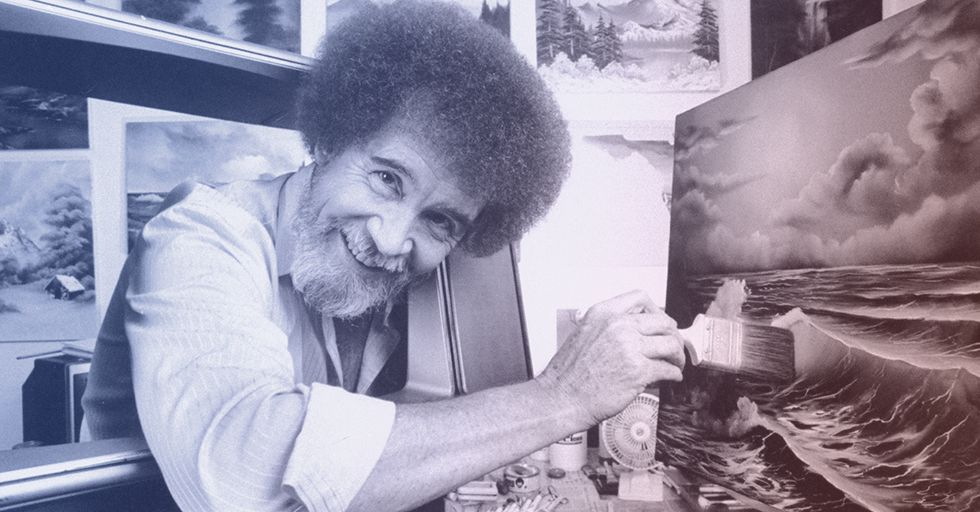 16 Happy Little Facts About Bob Ross