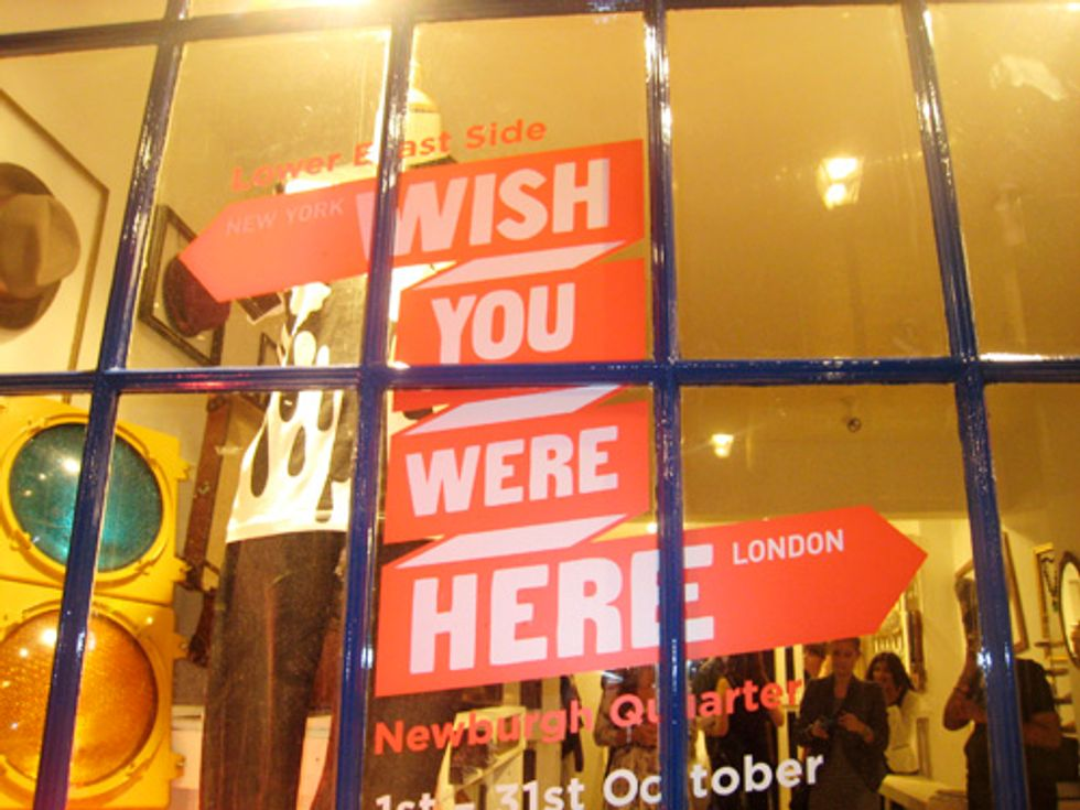 London Report: Carnaby Gets a Taste of the Lower East Side