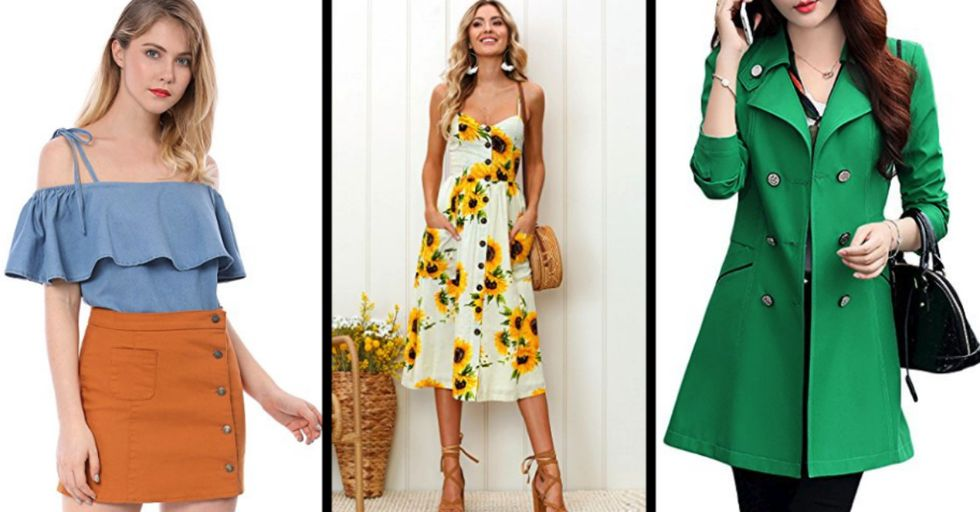35 Pieces of Stylish Springtime Apparel You Can Order from Amazon Today