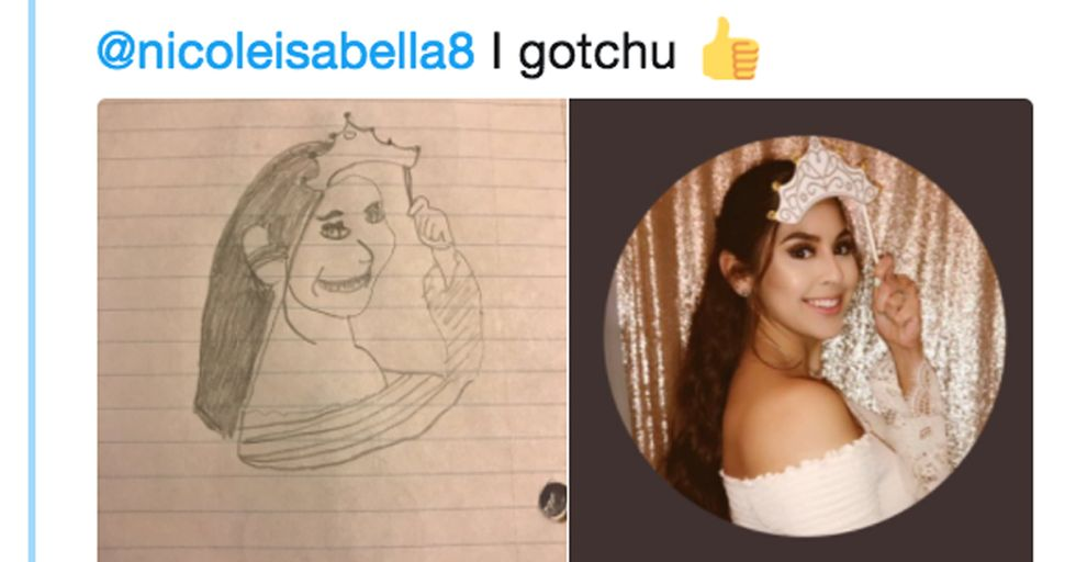Guy Draws Hilariously Bad Portraits and Now People Are Going Crazy With Requests