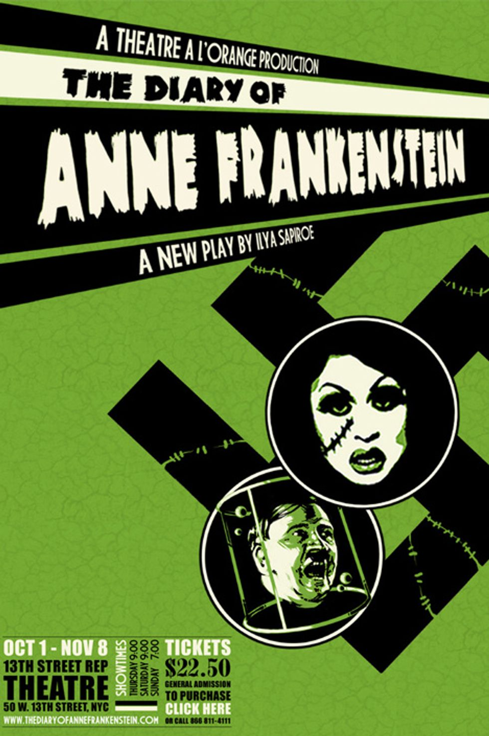 Stage Notes: The Diary of Anne Frankenstein