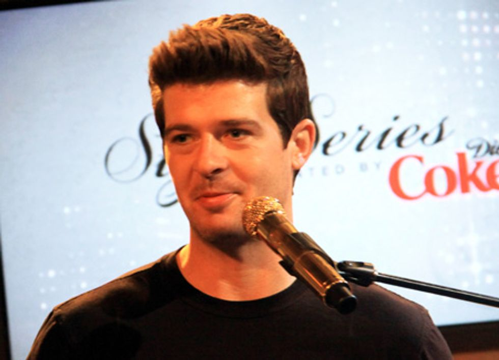 About Last Night... The Style Series Presented by Diet Coke Kicks Off with Robin Thicke