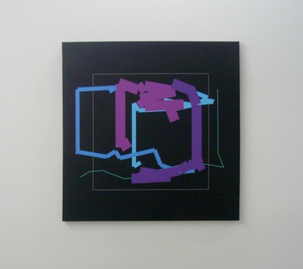 """This Week in Art Openings: Manfred Mohr, """"Bare"""" & Anthony Lister"""