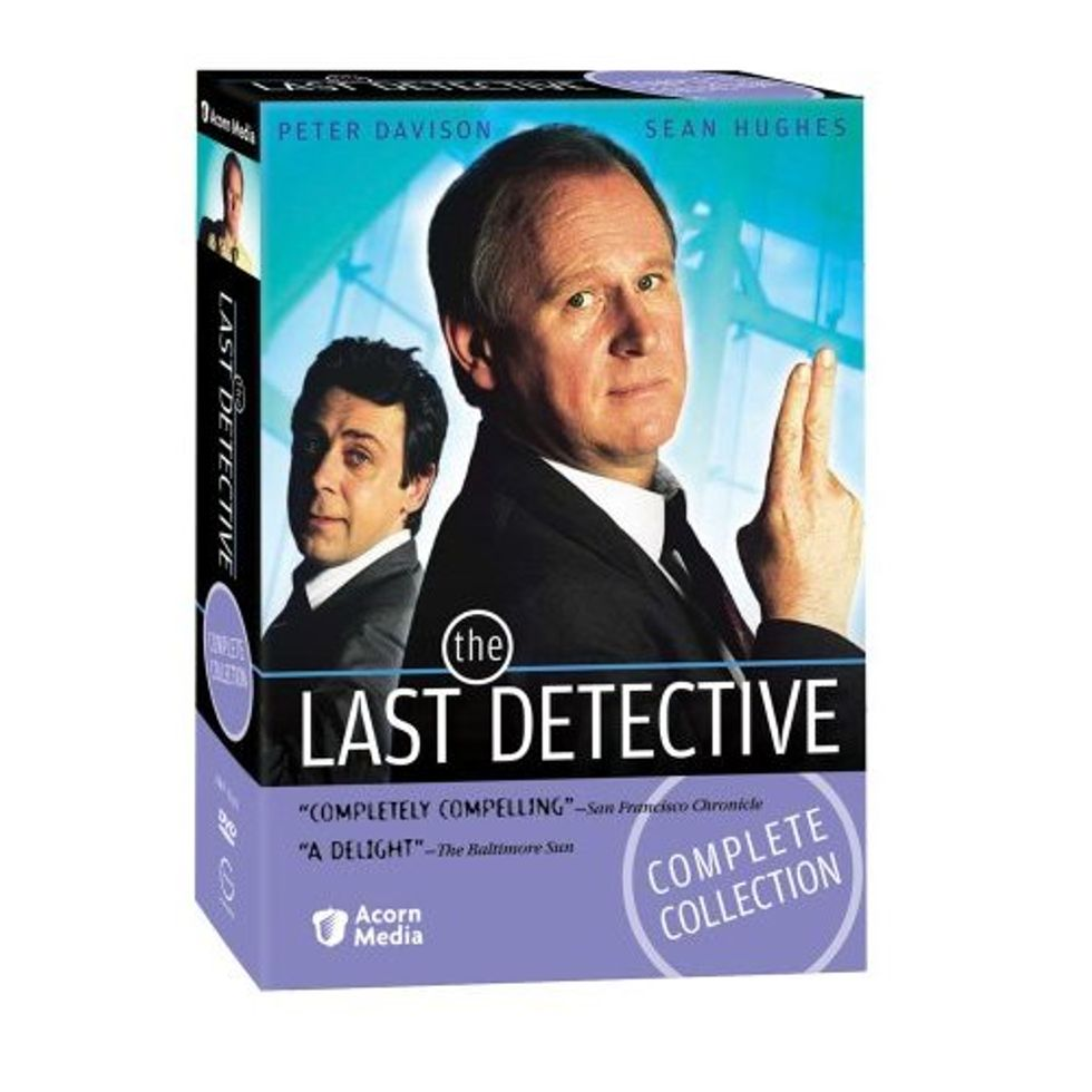 The Last Detective, the Sensational TV Mystery Series, Is out on DVD!