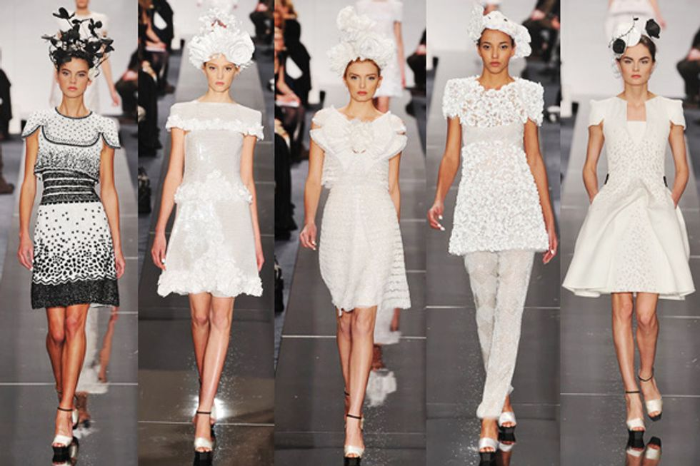 Chanel Couture Sets My Heart Aflutter