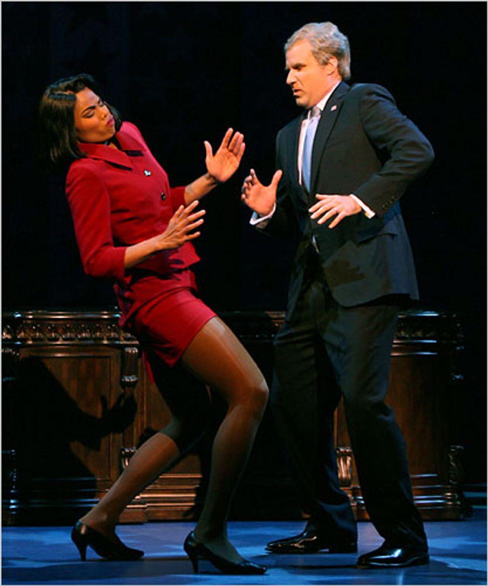 Will Ferrell Yuks It Up on Broadway