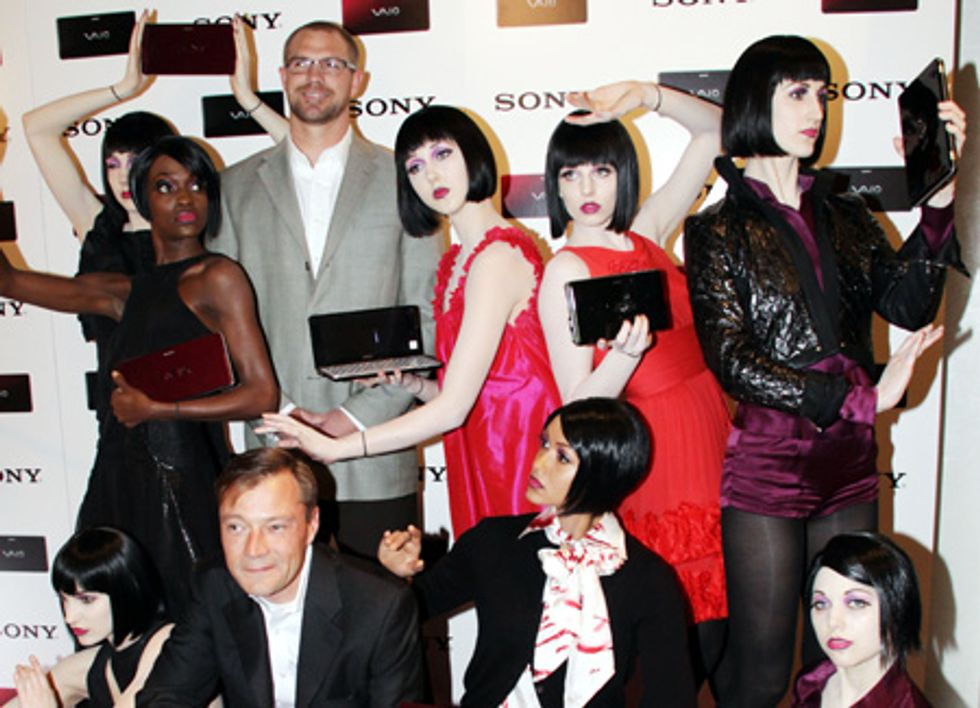 About Last Night... PAPER and SONY Host Launch of the SONY Vaio Lifestyle PC