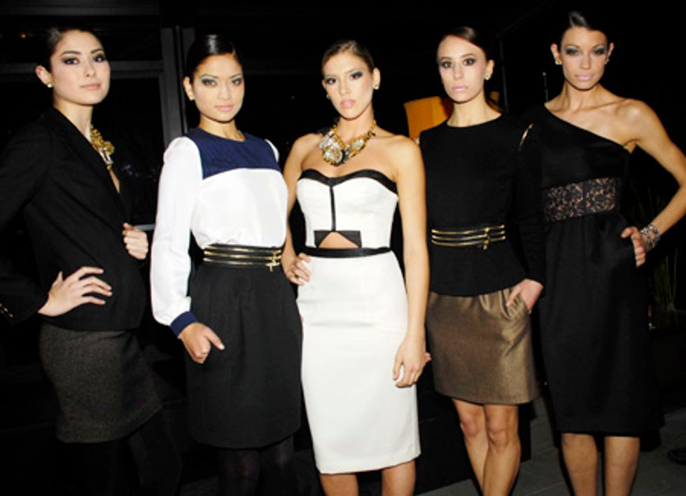 Susan Woo Debuts Her Chic Collection