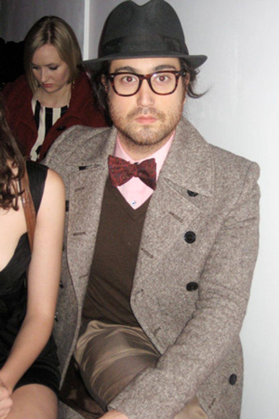 A Quick Chit-Chat With Sean Lennon at the Charlotte Ronson Show
