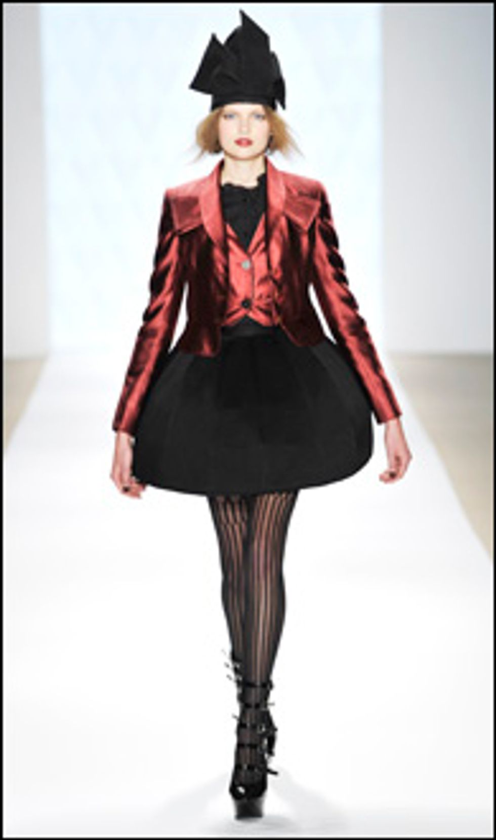 New York Fall '09 Collections: Erin Fetherston