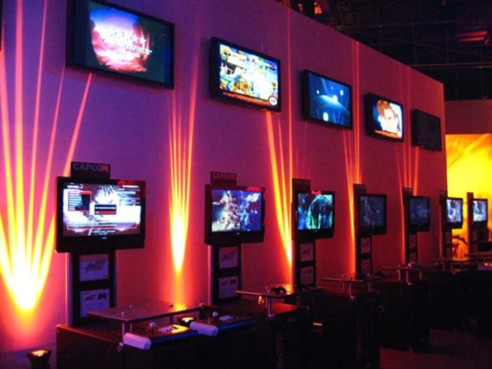Meanwhile in L.A... Gamers Galore Came out for Street Fighter IV