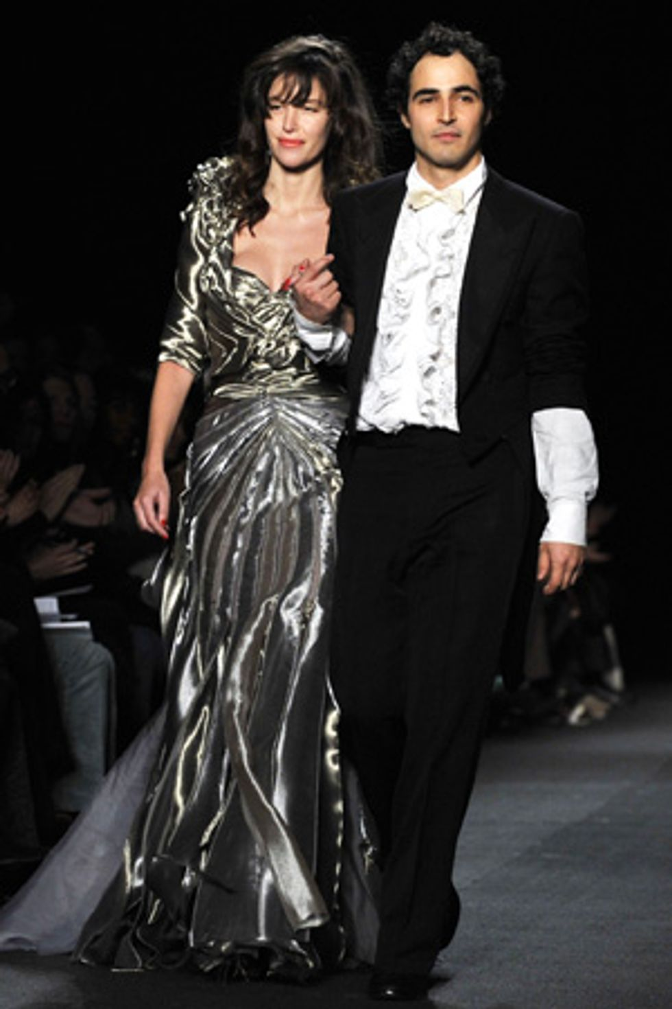 About Last Night... The Zac Posen Show