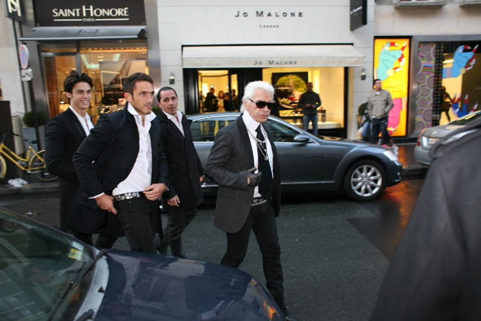Fake Karl Lagerfeld Returns!