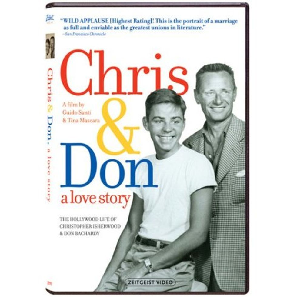Chris And Don: A Love Story On DVD!