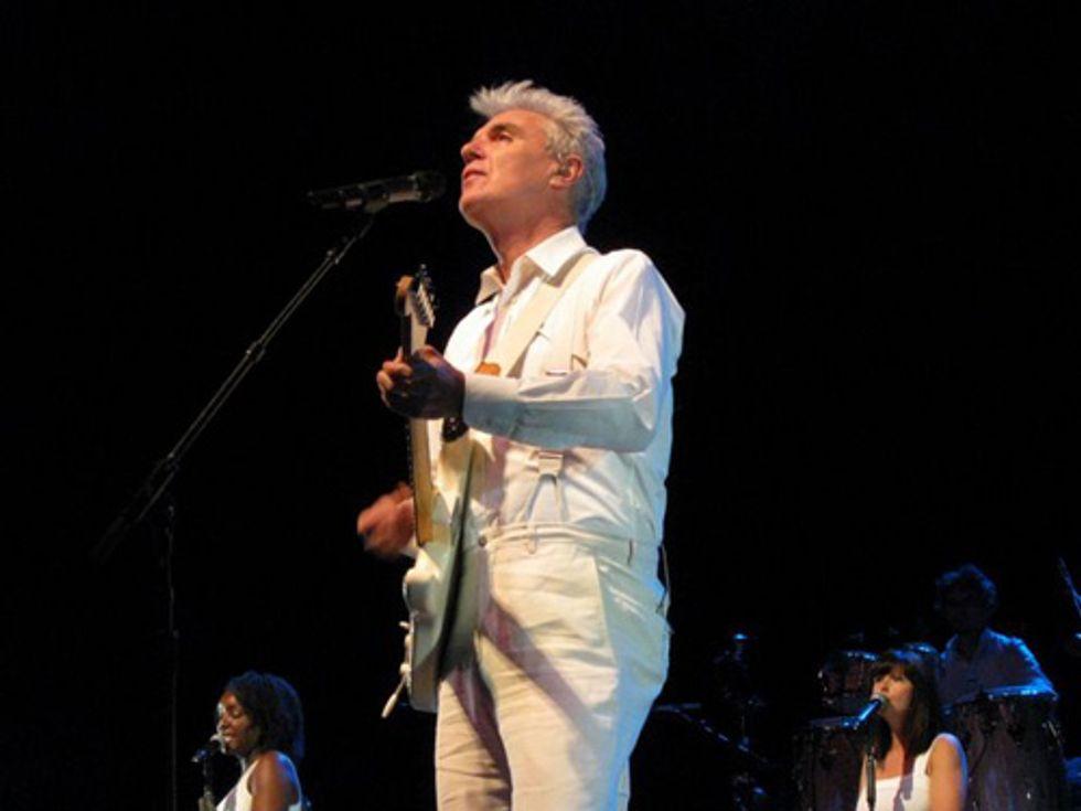 David Byrne Puts On Surreal, Joyful Spectacle at Radio City Music Hall