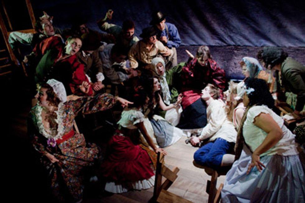 Stage Notes: Kaspar Hauser: A Foundling's Opera